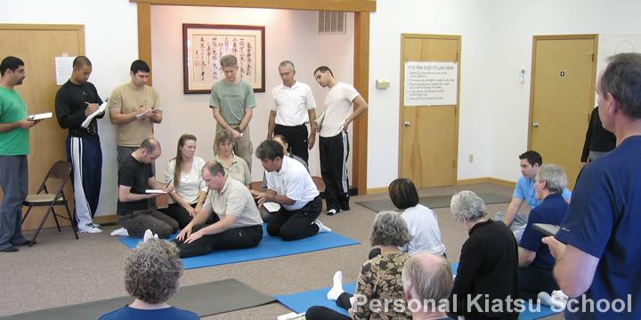 Click for details on the Personal Kiatsu School
