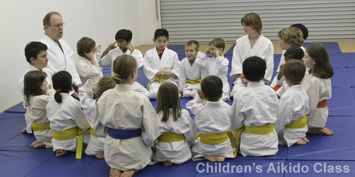 Click for details on children's Aikido classes